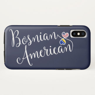 Bosnian American Entwined Hearts Cell Phone Case