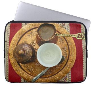 Bosnian coffee set laptop sleeve