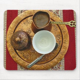 Bosnian coffee set mousepad