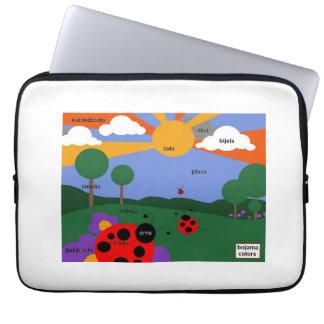 "Bosnian Colors 14"" waterproof laptop case Laptop Sleeves"