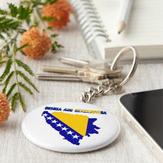 Bosnian country flag keychain
