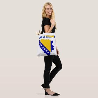 Bosnian country flag tote bag