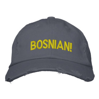 Bosnian! Embroidered Hat