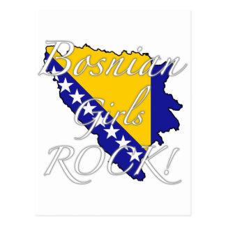 Bosnian Girls Rock! Postcard