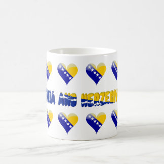 Bosnian heart coffee mug
