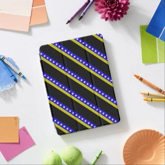 Bosnian stripes flag iPad air cover