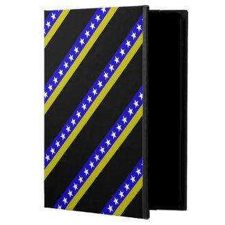 Bosnian stripes flag powis iPad air 2 case