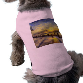 Bosphorus Istanbul Sunset Art Shirt