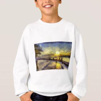 Bosphorus Istanbul Sunset Art Sweatshirt