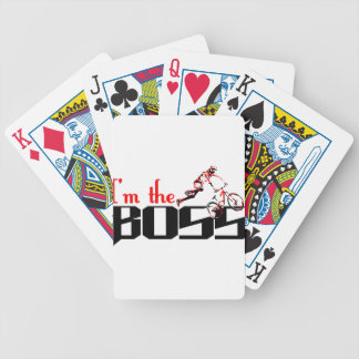 Boss Bike designs Bicycle Playing Cards