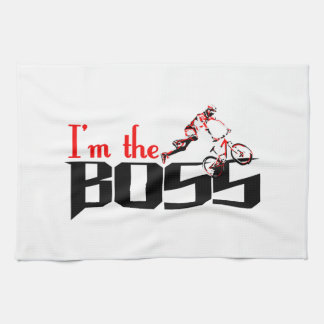 Boss Bike designs Kitchen Towel