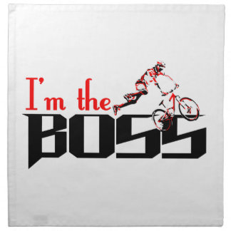 Boss Bike designs Napkin