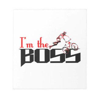 Boss Bike designs Notepad
