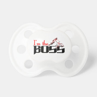 Boss Bike designs Pacifier