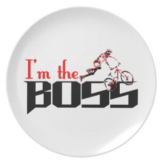 Boss Bike designs Plate