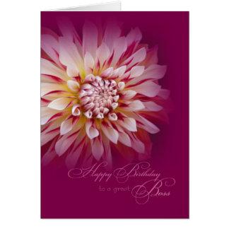 Boss Birthday Card / Female Boss