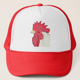 boss chicken trucker hat