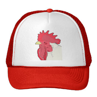 boss chicken trucker hat