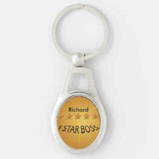 Boss Day Five Star Custom MK Keychain