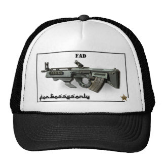 Boss Fad 6.8 Prestige HEAD GEAR CEO VP President C Trucker Hat