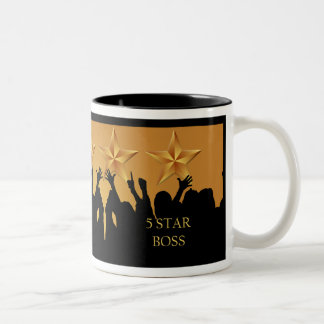 Boss Five 5 Star Cheers Award Mug