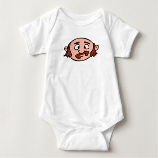 Boss Front Face Baby Bodysuit