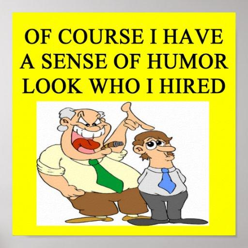 boss humor print