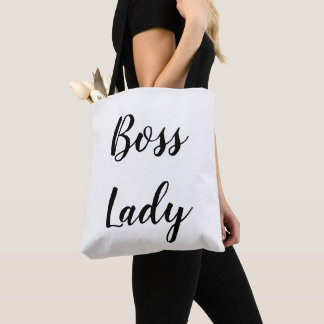 Boss Lady All-Over-Print Tote Bag