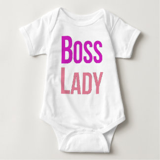 Boss Lady Baby Bodysuit
