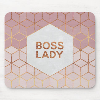 Boss Lady Mouse Pad