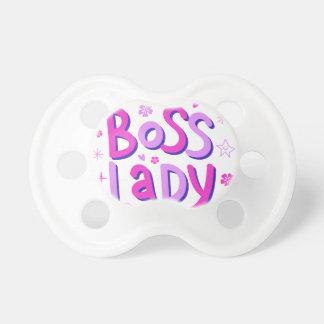 Boss lady pacifier
