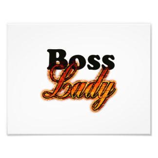 Boss Lady Photograph