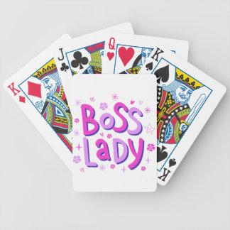 Boss lady poker deck