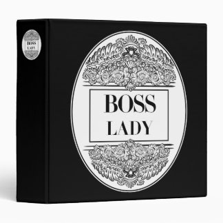 Boss Lady- Positive Quote´s 3 Ring Binder