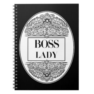 Boss Lady- Positive Quote´s Notebooks