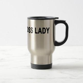 Boss Lady T-Shirt '. Travel Mug