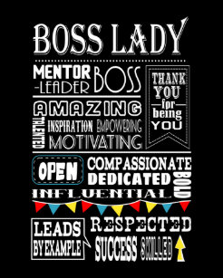 Boss Lady Photo Plaques Zazzle Ca