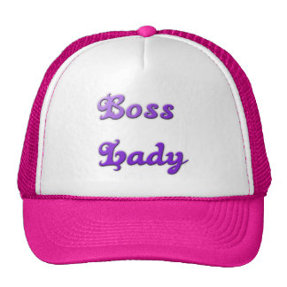 Boss Lady Trucker Hat