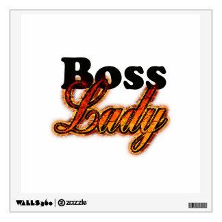 Boss Lady Wall Sticker