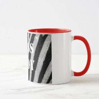 Boss Lady Zebra Print Mug