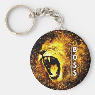 Boss Lion's Roar Keychain