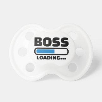 Boss loading pacifier