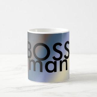 BOSS man mug silver/steal blue blends