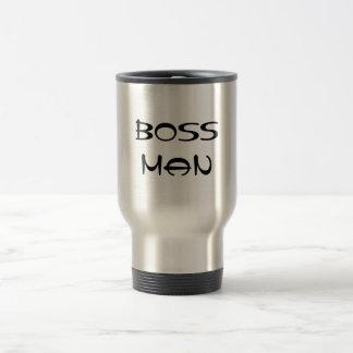 Boss Man Travel Mug