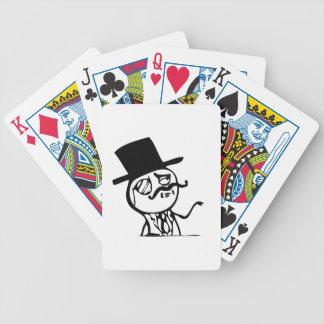 boss meme bicycle playing cards