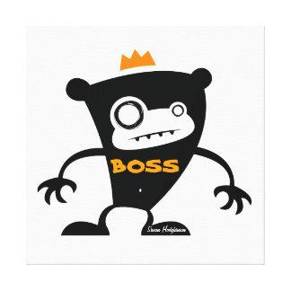 Boss Monkey Canvas Print