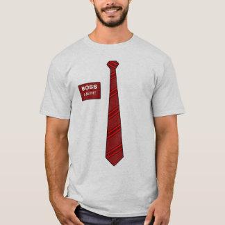 Boss Necktie Shirt