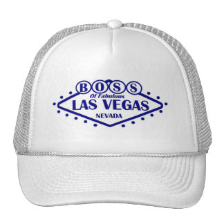 BOSS Of Fabulous Las Vegas Cap Trucker Hat