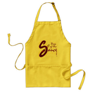 Boss of the Sauce apron