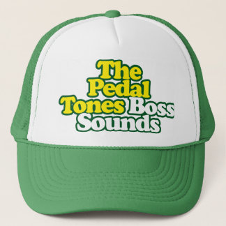 Boss Sounds Hat - Green Outline